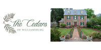 The Cedars of Williamsburg Bed & Breakfast Logo
