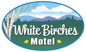 White Birches Motel Logo