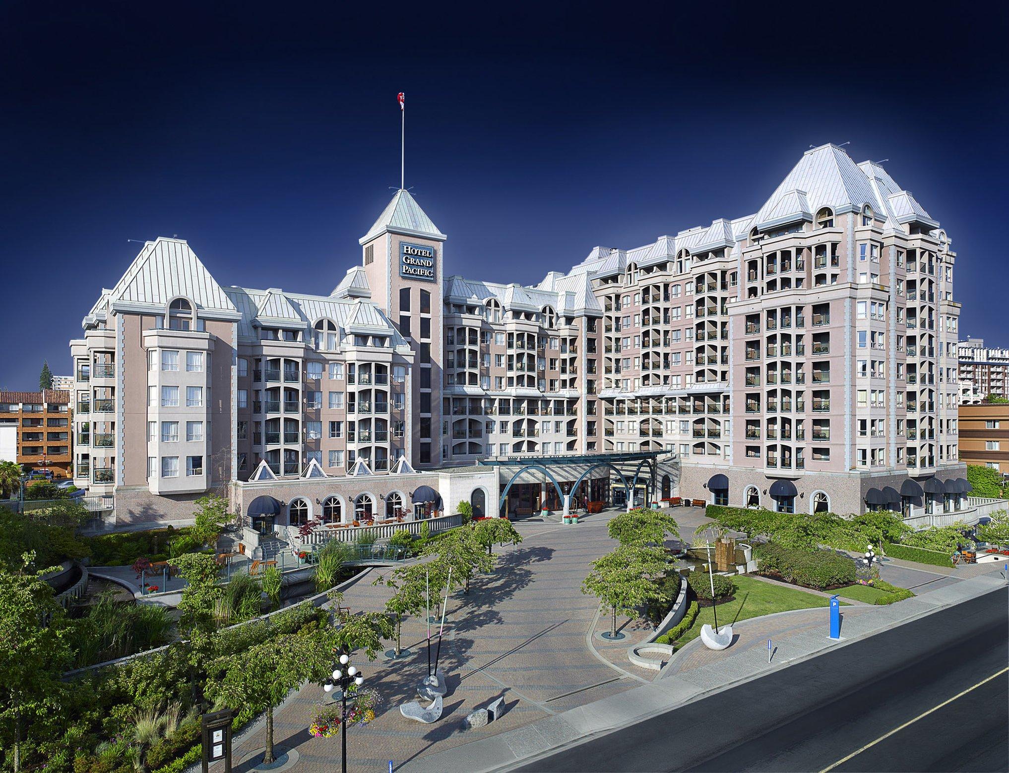 Hotel in Victoria BC | Hotel Grand Pacific