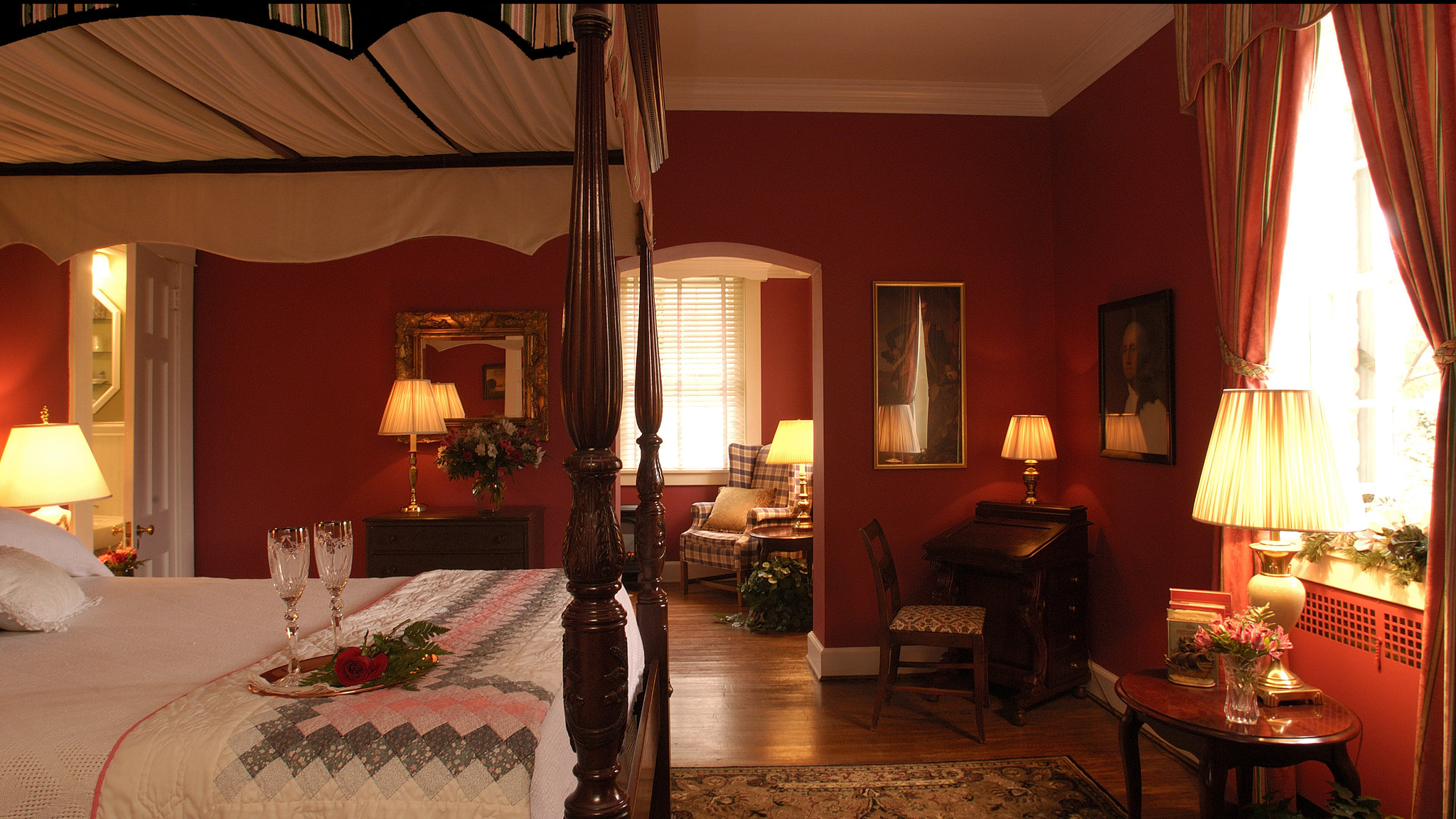 cedars of williamsburg bed and breakfast | home | the cedars of