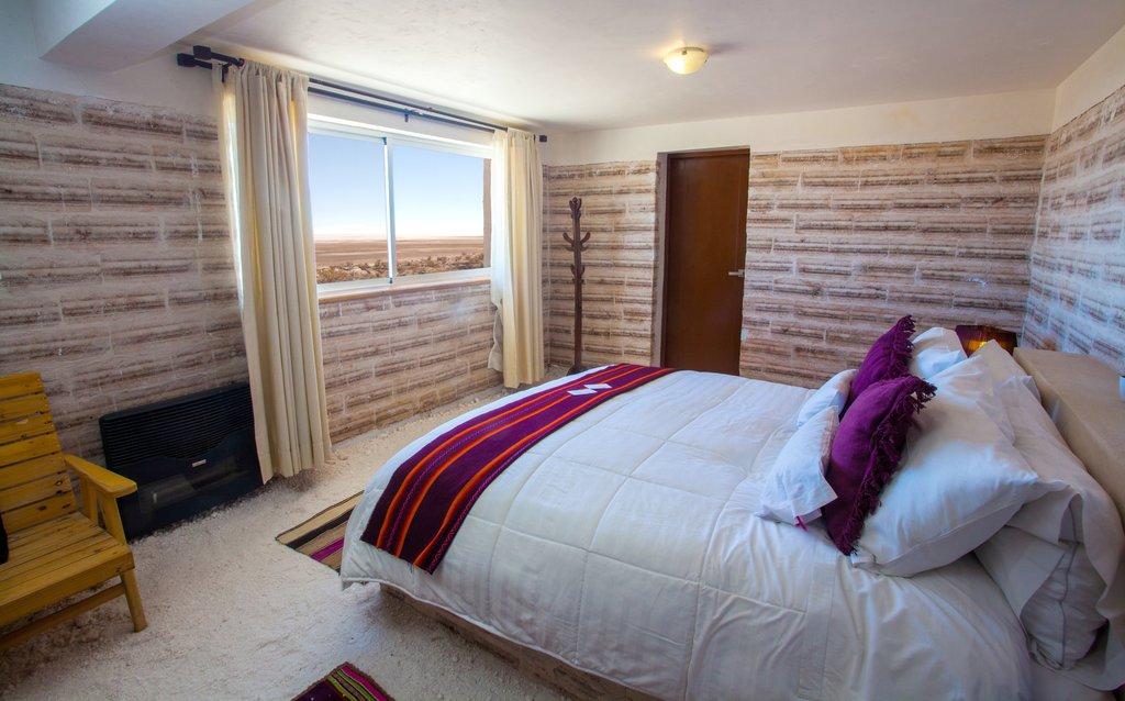 Salt Flats Hotel In Uyuni Bolivia Hotel De Sal Luna Salada