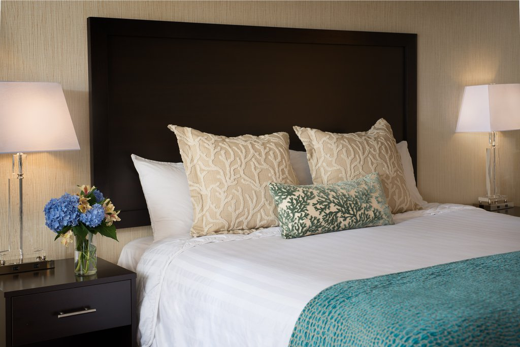 Beach-Inspired Guest Rooms