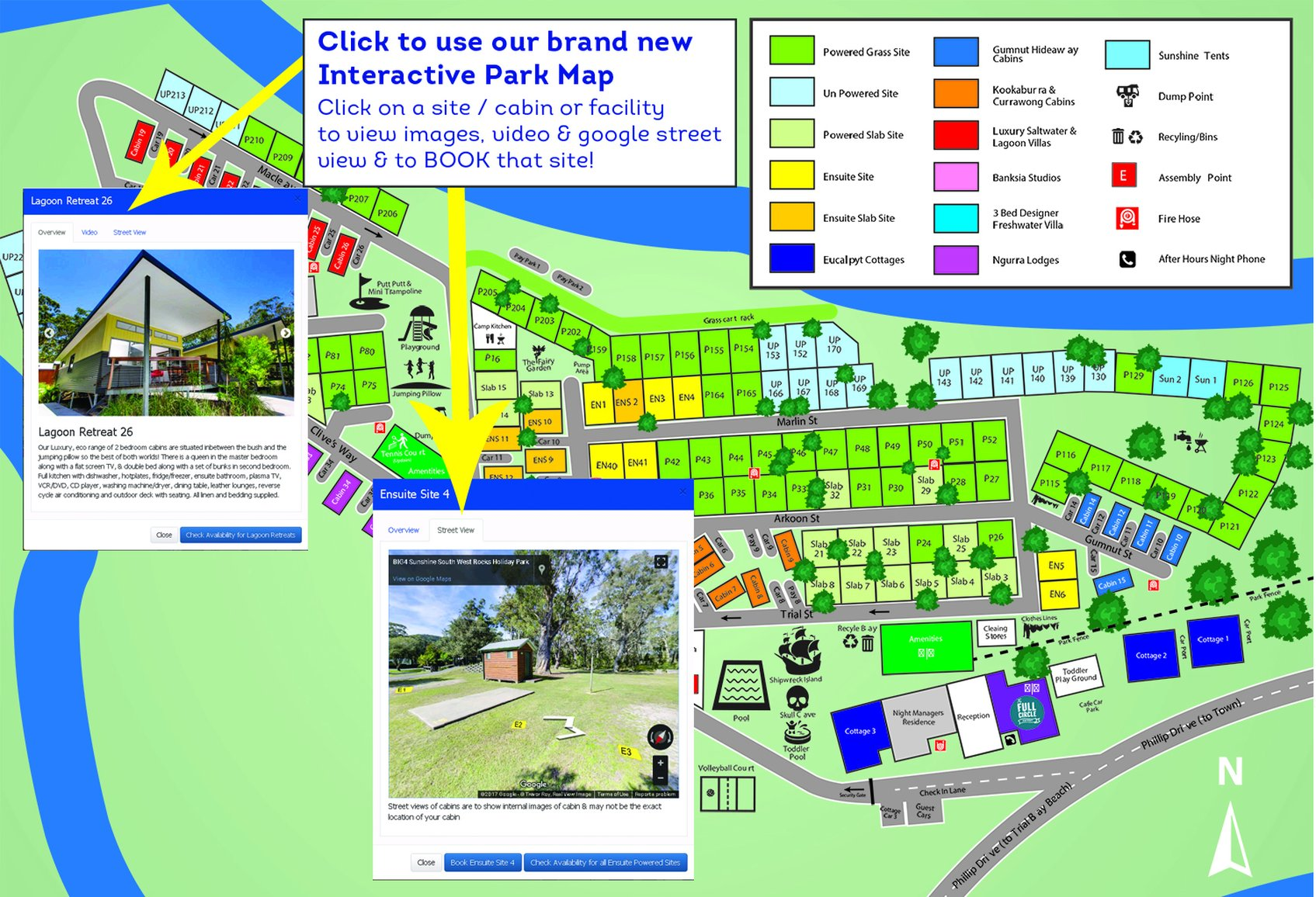 Home Big4 Sunshine Resort South West Rocks I Book Direct For The Big  Voucher Map Your Site Is A Good Fit To Have Virtual Walk Around And Exact Ensure You Great Stay Pdf Of Here