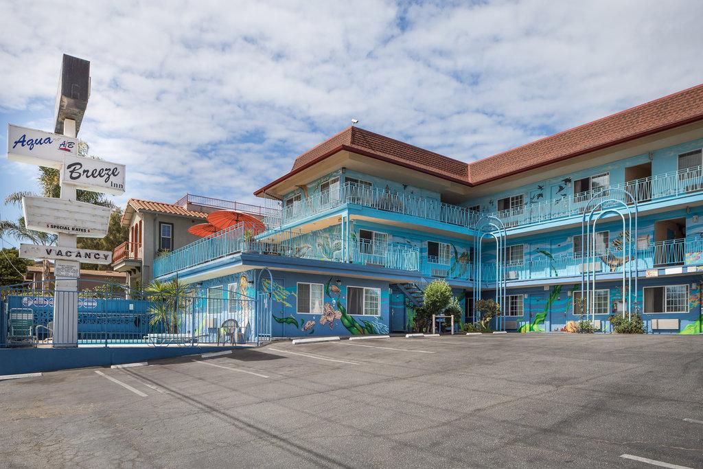 Hotel In Santa Cruz California Aqua Breeze Inn