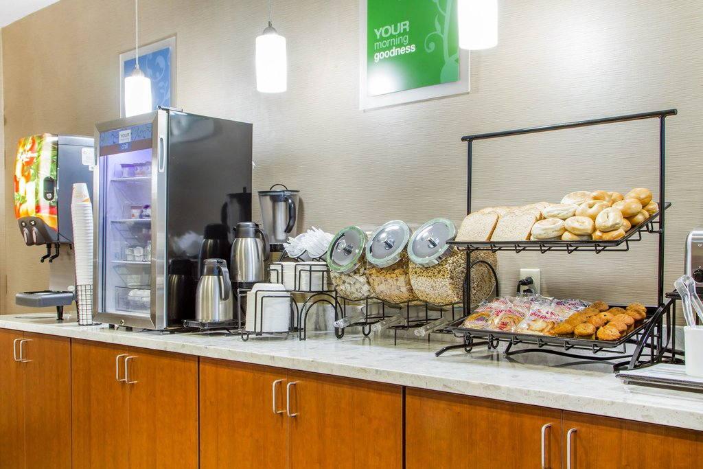 Start your day off right with a free breakfast at our hotel!