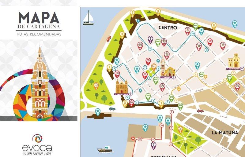 Cartagena Map Alfiz Hotel Boutique Cartagena Colombia