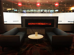 Fireplace Flight Lounge