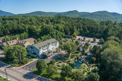Drone Shot of Comfort Inn & Suites North Conway
