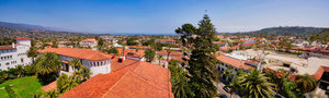 Santa Barbara Courthouse Panorama