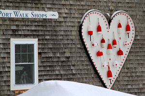 Feb Lovers Heart Kennebunkport Maine Lodging