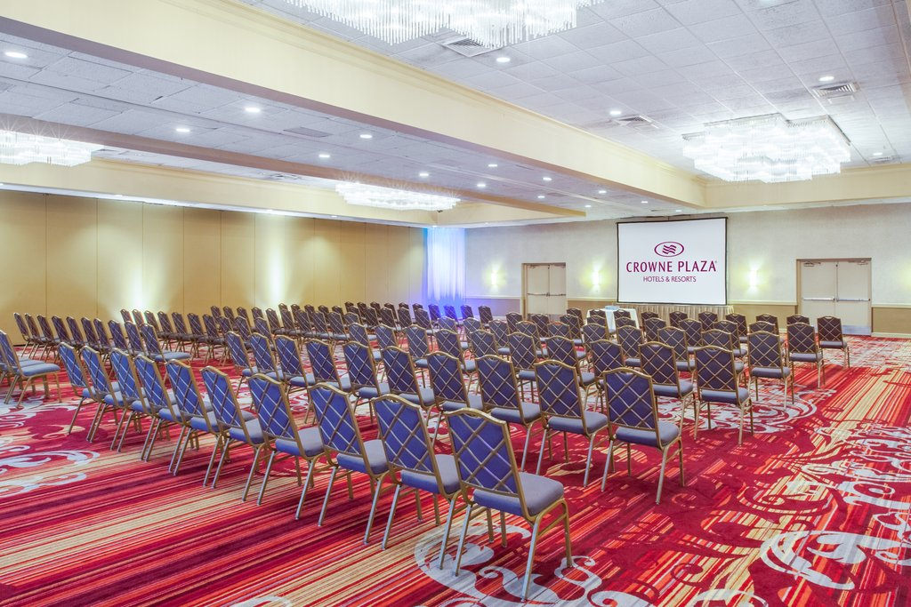 Ballroom with Conference Setup