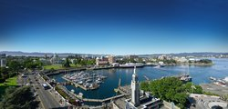 Exterior Panorama of Victoria Harbour