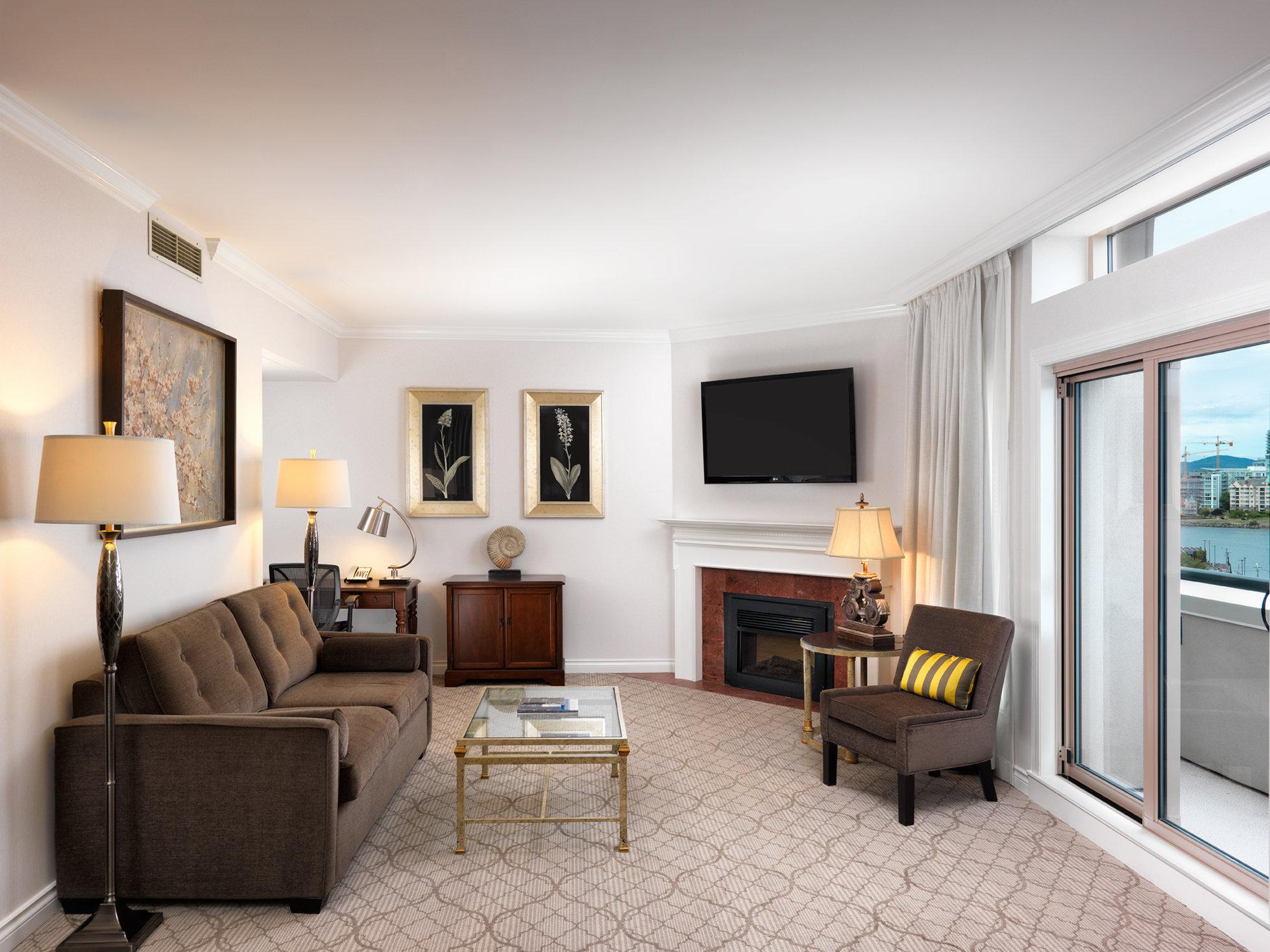 Premier Suite in Victoria British Columbia  Hotel Grand Pacific