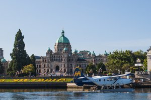 Seaplane By Parliament Buildings