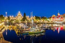 Victoria BC Night