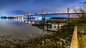 Golden Ears Bridge Langley Bc