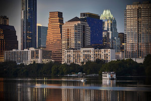 Skyline And Four Seasons Hotel Austin