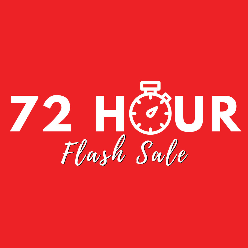Hour Sale Banner Square