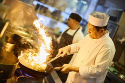 Crowne Plaza Chef Flames