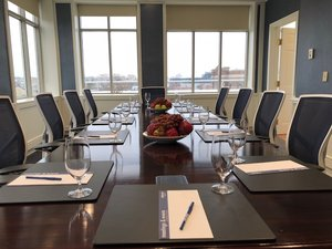 Baltimore Board Room with View
