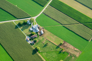 Lancaster County Aerial View