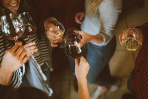 Groups with Wine