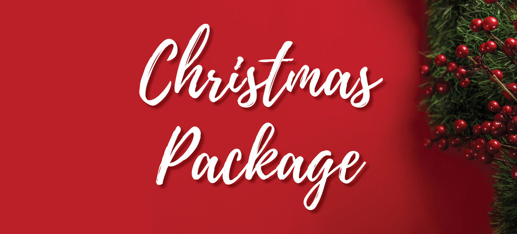 Christmas Package Banner