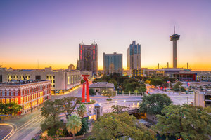 View Of Downtown San Antonio