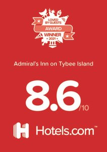 Admiral's Inn On Tybee Island Hotels.com Award 2021